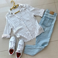 Used White top for 10 dhs from bershka in Dubai, UAE