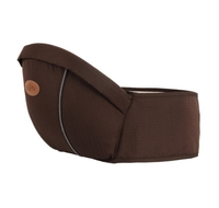 Used Baby hip seat carrier, brown in Dubai, UAE