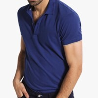 Used Massimo Dutti short-sleeved Polo shirt, with tag and paper bag in Dubai, UAE