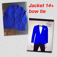 Blazer  single button  slim fit sizeS