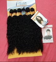 Used Africa sensation synthetic Hair 6 pcs. in Dubai, UAE