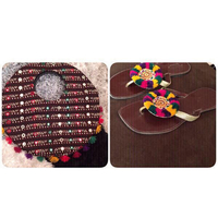 Used Brand new #Handmade #Bag with #Handmade #Slippers. in Dubai, UAE