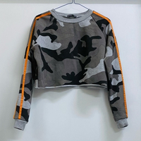 Used New Camo Cropped Sweatshirt- Splash 🥵  in Dubai, UAE