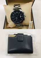 Used Baellerry men leather wallet + Watch New in Dubai, UAE