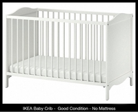 Used Ikea Baby Crib in Dubai, UAE