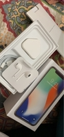 Used Apple iphone X box and accessories  in Dubai, UAE