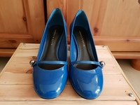 Used New Charles & Keith Blue Heels in Dubai, UAE