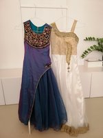 Used 2 girls party dress in Dubai, UAE