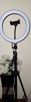 "Used 10"" Selfie Ring Light with 210CM Long Tr in Dubai, UAE"