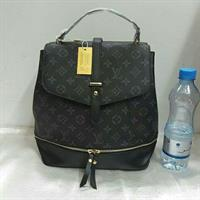 Louis Vuitton Backpack Black Master Copy