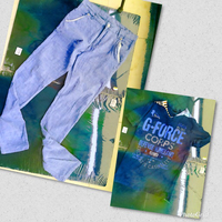 14+ boys linen trousers + T-shirt