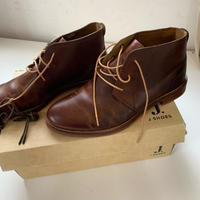 Leather handcrafted shoes (42) New