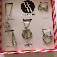 Used 5 Wolfgang necklaces (new) in box  in Dubai, UAE