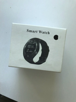 Used Black smart watch new for Android  in Dubai, UAE