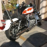 Used Harley Davidson super low 883 model 2012 in Dubai, UAE