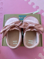 Used Toms Rose Cloud Satin Bow Shoes in Dubai, UAE