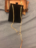 Used plated gold necklace brand new  in Dubai, UAE