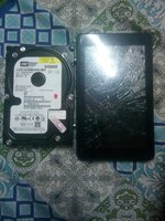 Used Western digital hard disk & geepas tab in Dubai, UAE