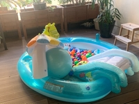 Used Kids pool with slide and balls  in Dubai, UAE