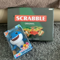 Used Scrabble + Baby Shark Bundle in Dubai, UAE