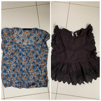Used Two Zara blouses xs in Dubai, UAE