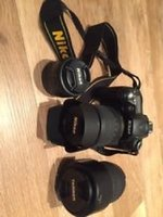 Used Nikon D90 with 3 lens and More in Dubai, UAE