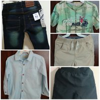 Used Kids 5 to 6 year.offer 5 item in 1 price in Dubai, UAE