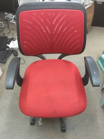 Used Red chair # exhange post in Dubai, UAE
