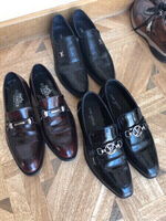 Used Designer shoes man 3 pairs Hermes, LV.. in Dubai, UAE