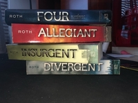 Used Divergent Series by Veronica Roth in Dubai, UAE