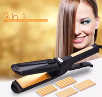 Used 3in1 Crimper Straightener hair iron in Dubai, UAE