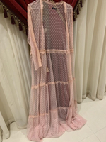 Used Long open overlay dress never worn 16 in Dubai, UAE