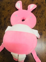 Used Baby Anti Fall headrest Rabbit Pink❤️ in Dubai, UAE