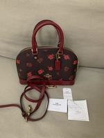 Used Original Coach Mini Sierra Floral in Dubai, UAE