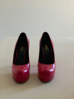 Used Yves Saint Laurent Pink Heels  in Dubai, UAE