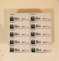 Used 10 Boxes of Sony DVD+R (New) in Dubai, UAE