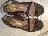 Used Emporio Armani sandals size 39 in Dubai, UAE