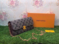 Used Louis Vuitton sling bag-with box & card in Dubai, UAE