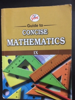 Used Gems ICSE Math Study Guide for Class 9 in Dubai, UAE