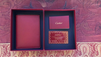 Used Original Cartier leather passport holder in Dubai, UAE