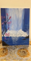 Used Hand painted wall art canvas  in Dubai, UAE