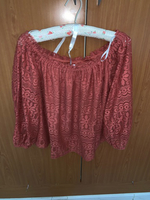 Used Vero Moda orange top in Dubai, UAE