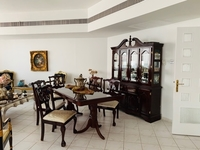 Used Dining Set: 1 table 1 Buffet 6 chairs in Dubai, UAE