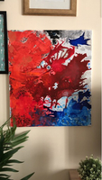 Used Painting on canava abstract  in Dubai, UAE