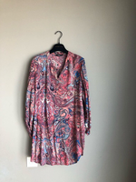 Long blouse-shirt-dress size L