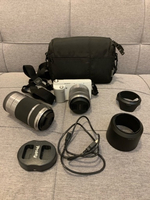 Used Sony Alfa Nex-F3 📷 + Sony 55-210 lens + in Dubai, UAE
