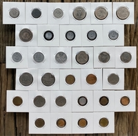 Used Poland - 32 old coins in Dubai, UAE