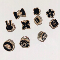 Used Exposure Buttons Pins cute design 10pcs in Dubai, UAE
