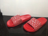 Used LV supreme slippers size 44 new in Dubai, UAE