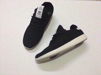 Used Adidas HU sneakers, black, size 42,new in Dubai, UAE